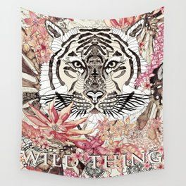 TIGER - WILD THING JUNGLE Wall Tapestry