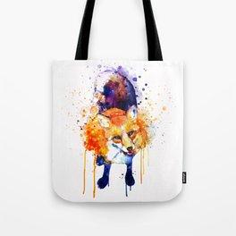 Cute Happy Fox Tote Bag