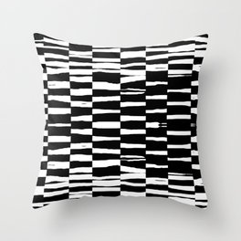 Break Hand Lines 02 Throw Pillow