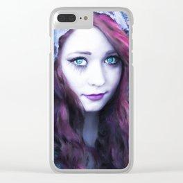 Gypsy Spirit Clear iPhone Case