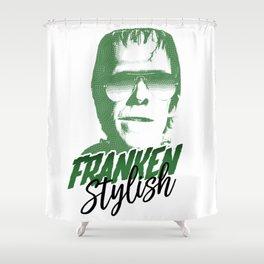 Franken Stylish Shower Curtain