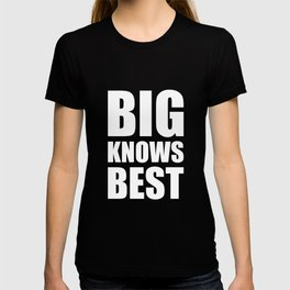 Big Knows Best Brother Sister Twins T-Shirt T-shirt