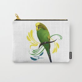 English Budgie Carry-All Pouch