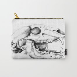 Bear Skull Carry-All Pouch