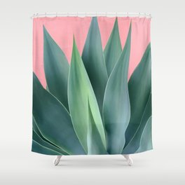 Agave succulent Shower Curtain