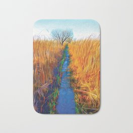 Wetland Boardwalk Bath Mat