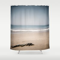 monet Shower Curtains featuring Monet by Joëlle Paquet