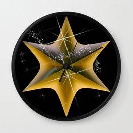 Gold Starlight Fashion Wall Clock