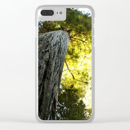 One Big Tree Clear iPhone Case