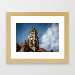 Decatur, Texas Courthouse Framed Art Print
