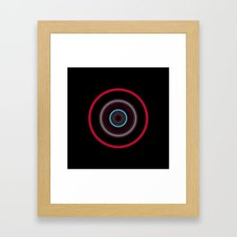 orbital 8 Framed Art Print