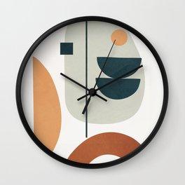 Minimal Shapes No.37 Wall Clock