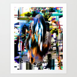 Sicksicksick Art Print