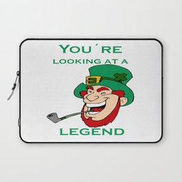 You're Looking At A Legend St Patricks Day Laptop Sleeve