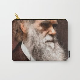 Charles Darwin by JS Carry-All Pouch