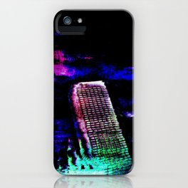 Etheric Degeneration iPhone Case