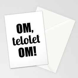 Om Telolet Om Stationery Cards