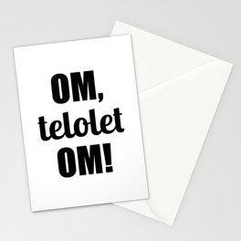 Om Telolet Om Stationery Cards