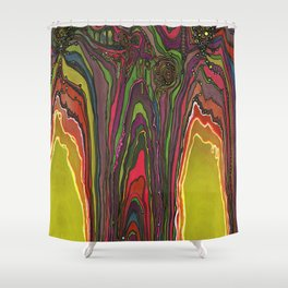 Potency of the Nectar (Secret Message) Shower Curtain