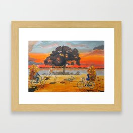 End of season habits Framed Art Print