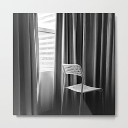 Take a seat and don't worry Metal Print
