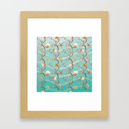 Marine Pattern 11 Framed Art Print