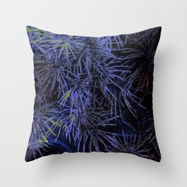 Eyes in the Grass Throw Pillow