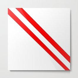 Flag of peru 2-Peruvian, Lima, latin america,america, quechua,aymara, andean, Arequipa,Piruw Metal Print
