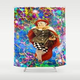 Clown Troubadour Shower Curtain