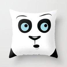 Whoa Panda Throw Pillow