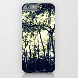 Down to the Woods iPhone Case
