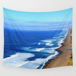 California Coast Loving Wall Tapestry