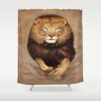 monster hunter Shower Curtains featuring Hunter by Qaizor