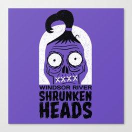Shrunken Heads Canvas Print