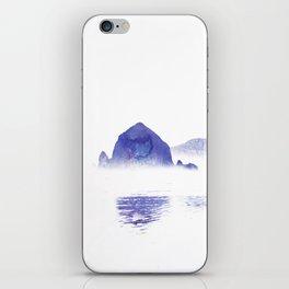 Haystack Rock watercolor iPhone Skin