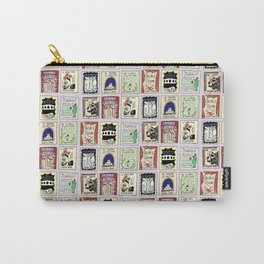 Virginia Woolf Book Covers Carry-All Pouch