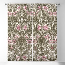 "William Morris ""Bluebell or Columbine"" Blackout Curtain"