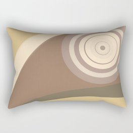 City Park - Hypnotized Bird Rectangular Pillow