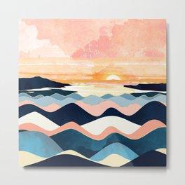 Autumn Ocean Metal Print