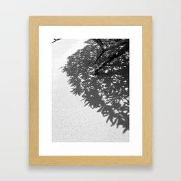 shadow study 1 Framed Art Print