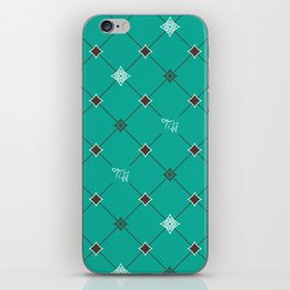 Breakfast at Tiffany's with Mint Chocolate iPhone Skin
