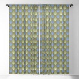Pattern #36 Sheer Curtain