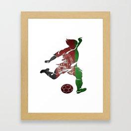 Afghanistan Framed Art Print