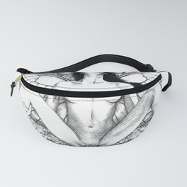 asc 721 - La collectionneuse (Pinned through and through) Fanny Pack