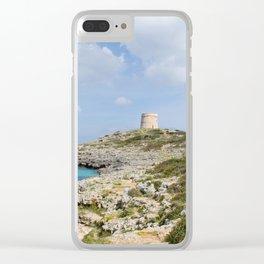Alcaufar, Menorca. Clear iPhone Case