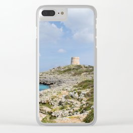 Alcaufar, Menorca. Clear iPhone Case