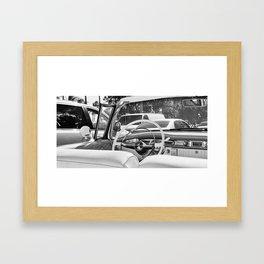 Pimped in White Framed Art Print
