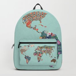 Louis Armstrong Told Us So (teal) Backpack