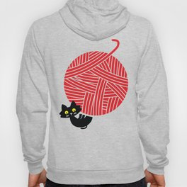 Fitz - Happiness (cat and yarn) Hoody