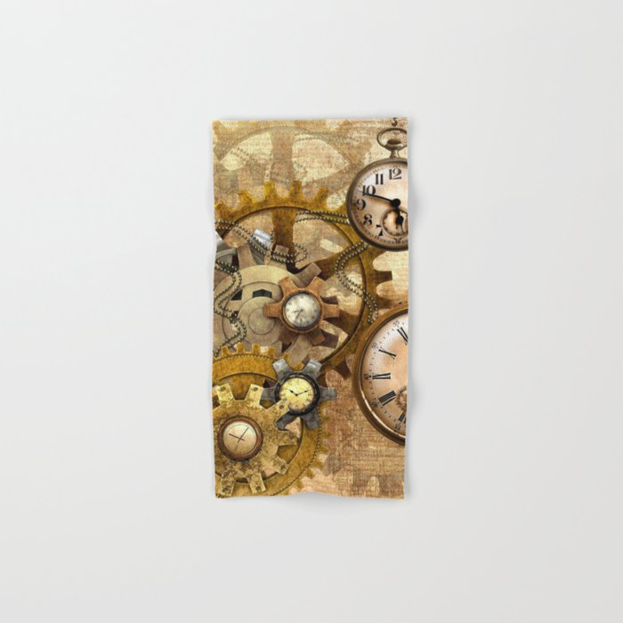 steampunk Hand & Bath Towel